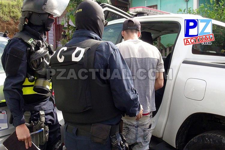 Denuncias a la línea 1176 permitieron detener a grupo narco que operaba en Laurel de Corredores.