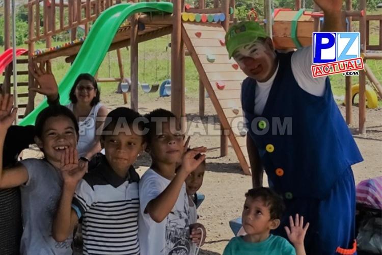 PANI financia la creación de 171 parques infantiles en todo el país, incluido Pérez Zeledón.