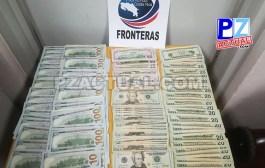 Policía de Fronteras decomisa cerca de 17 mil dólares de dudosa procedencia en Golfito.