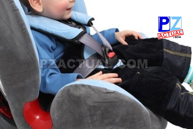 124 conductores ya fueron sancionados por llevar niños sin dispositivos en los vehículos.