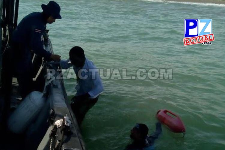 Guardacostas rescatan hombre tras vuelco en Quepos y detiene a otro en Herradura.