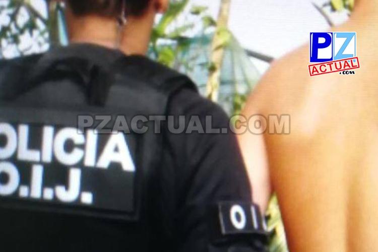Agentes del OIJ en Jacó detuvieron a un menor de 17 años como sospechoso de homicidio.