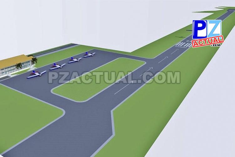 Nueva pista del aeródromo de Quepos entrará en operación a finales de julio 2018.