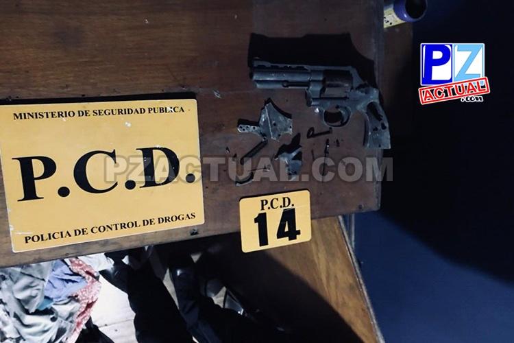 PCD captura a dos vendedores de droga en la Zona Sur del país.