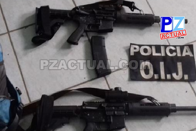 Agentes detuvieron a dos hombres y decomisaron droga y armas en Osa.