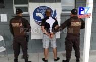 Policía de Fronteras aprehende a supuesto traficante de personas.