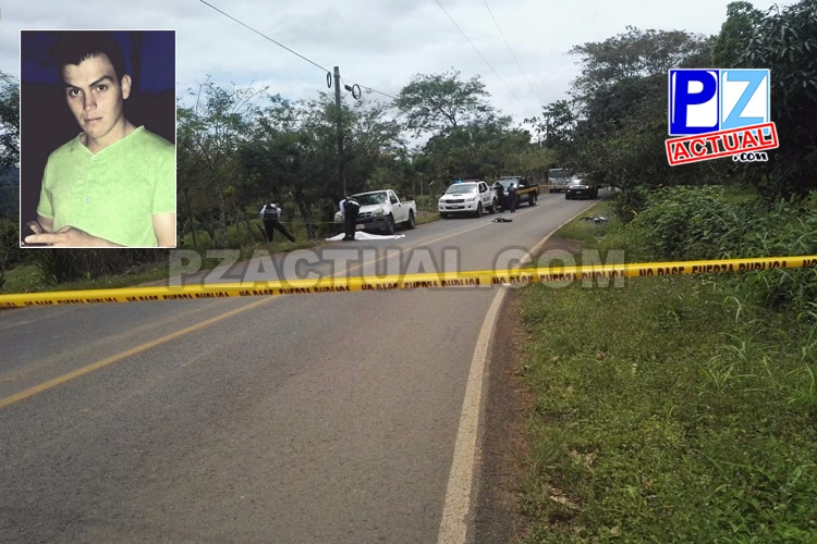 Joven motociclista falleció tras sufrir un accidente de tránsito en el distrito La Amistad.