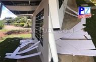 Personas inescrupulosas causaron daños a nuevas instalaciones de Centro Morpho que aún no habían sido inauguradas.