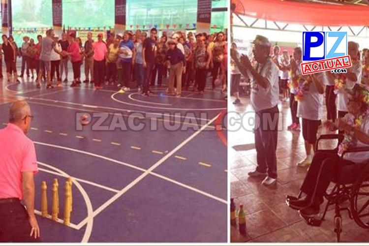 Adultos mayores de la Zona Sur participaron en Juegos Dorados de la CCSS.