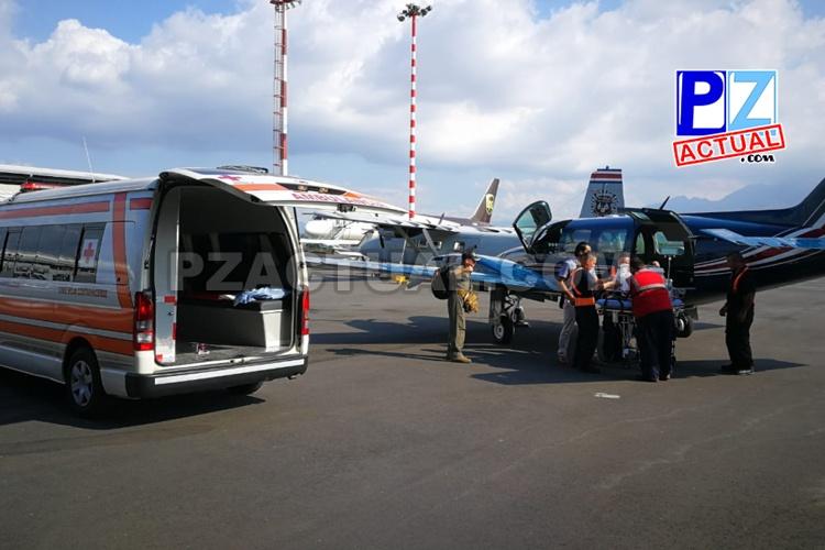 Pilotos del SVA de Seguridad Pública auxiliaron a dos bebés y a una mujer cuyas vidas corrían peligro.