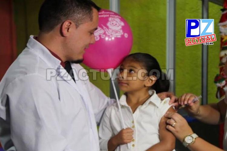 En las primeras tres semanas de vacunación contra el Sarampión ya se protegieron 308 menores contra esa enfermedad infectocontagiosa.
