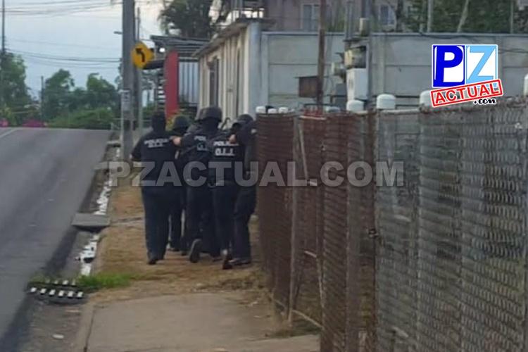 Fiscalía realiza 10 allanamientos para desarticular banda en Pérez Zeledón.