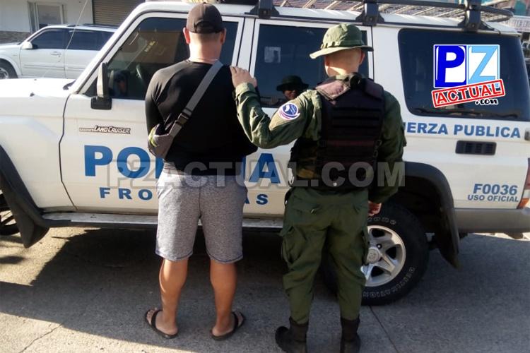 Policía de Fronteras  interceptó en la zona sur a tres supuestos traficantes de personas.