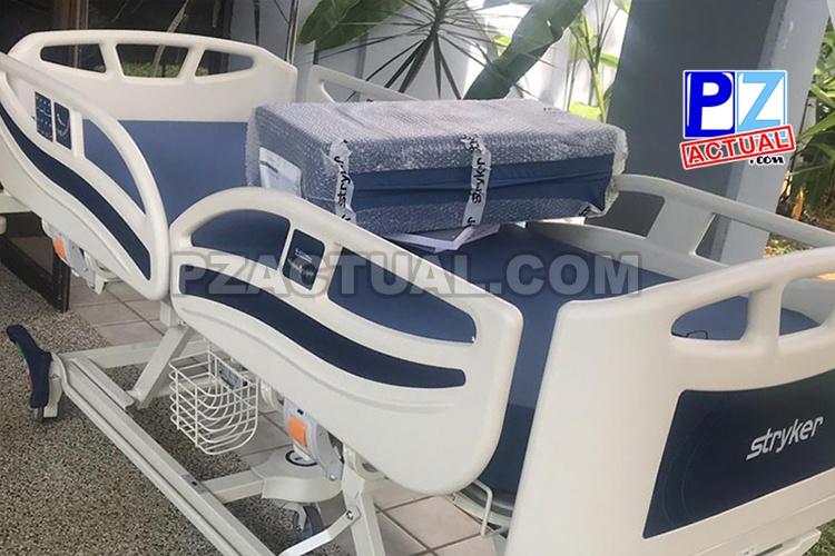 El área de hospitalización del Hospital de Quepos se renueva para darle mayor seguridad y comodidad al paciente.