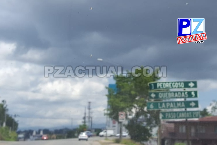 IMN pronostica aguaceros y tormenta eléctrica el Pacífico Central y Sur durante la tarde.
