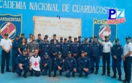 Guardacostas prepara a instituciones de Quepos para atender emergencias y otros incidentes.