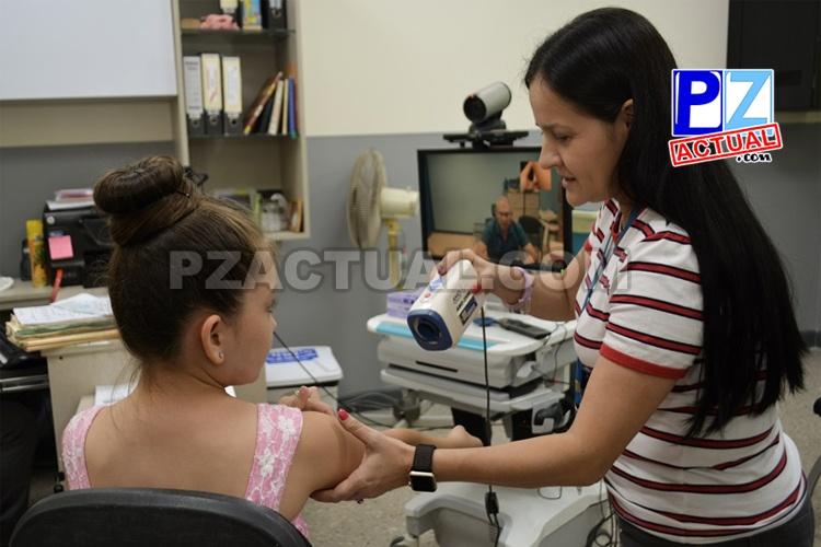 Telemedicina acerca servicios especializados de dermatología a niños de la región Brunca.