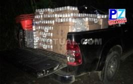 Policía de Fronteras decomisa 2,5 millones de colones en licor contrabandeado desde Panamá.