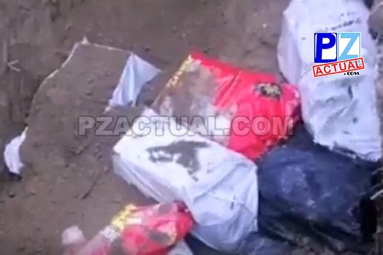 Seguridad Pública ubica fosa donde escondían cargamento de droga en Puerto Jiménez,  Golfito.