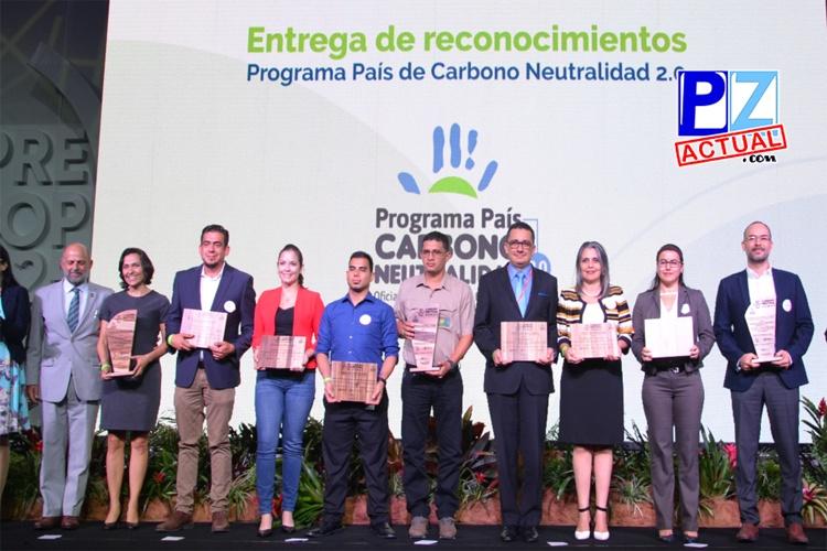 Popular Pensiones fue reconocida en PreCop por cumplir con el Programa País de Carbono Neutralidad.