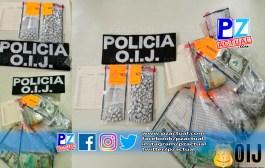 Un hombre fue detenido como sospechoso de venta de droga en Jacó.