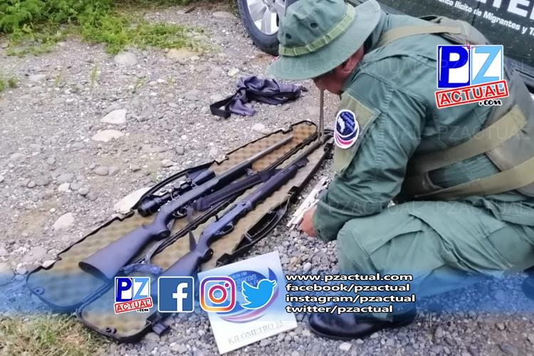 Armas y licores son decomisados en Buenos Aires de Puntarenas.