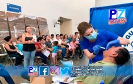 Vecinos de Jacó son beneficiados con jornada Médico–Odontológica.