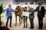 Dekoracja Wiceczempiona koni dwuletnich DONNA NEWA S sp