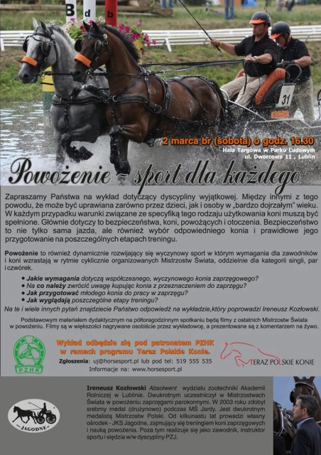 Wykład - CAVALIADA - Lublin 2013