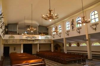 Miłocin - Rzeszów kościół wnętrze