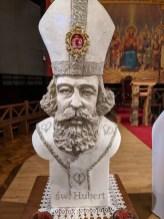 Zalesie Górne - relikwiarz św. Huberta