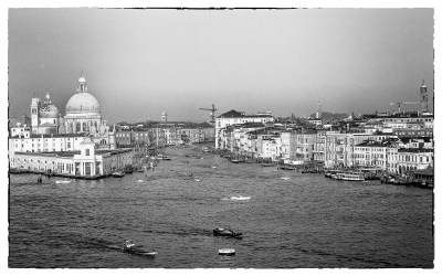 Venice from the sea