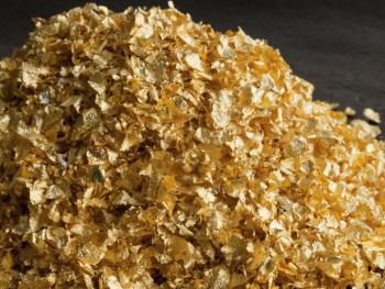 Edible Gold Crumbs