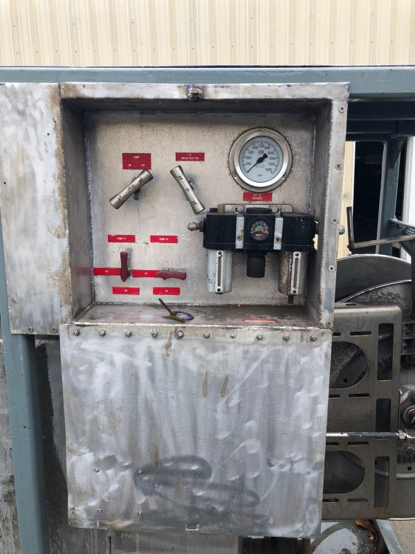 Used Grease Injector Skid