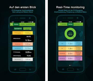 Speichersystem Alpha EES Smile B3 Onlinemonitoring & App