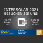 Intersolar 2021 Aussteller Q3 ENERGIE Hallo B5 Stand B5.265