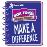 Box Tops for Education Notebook