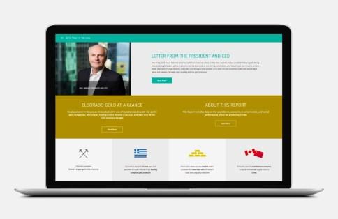 Eldorado Gold online annual report