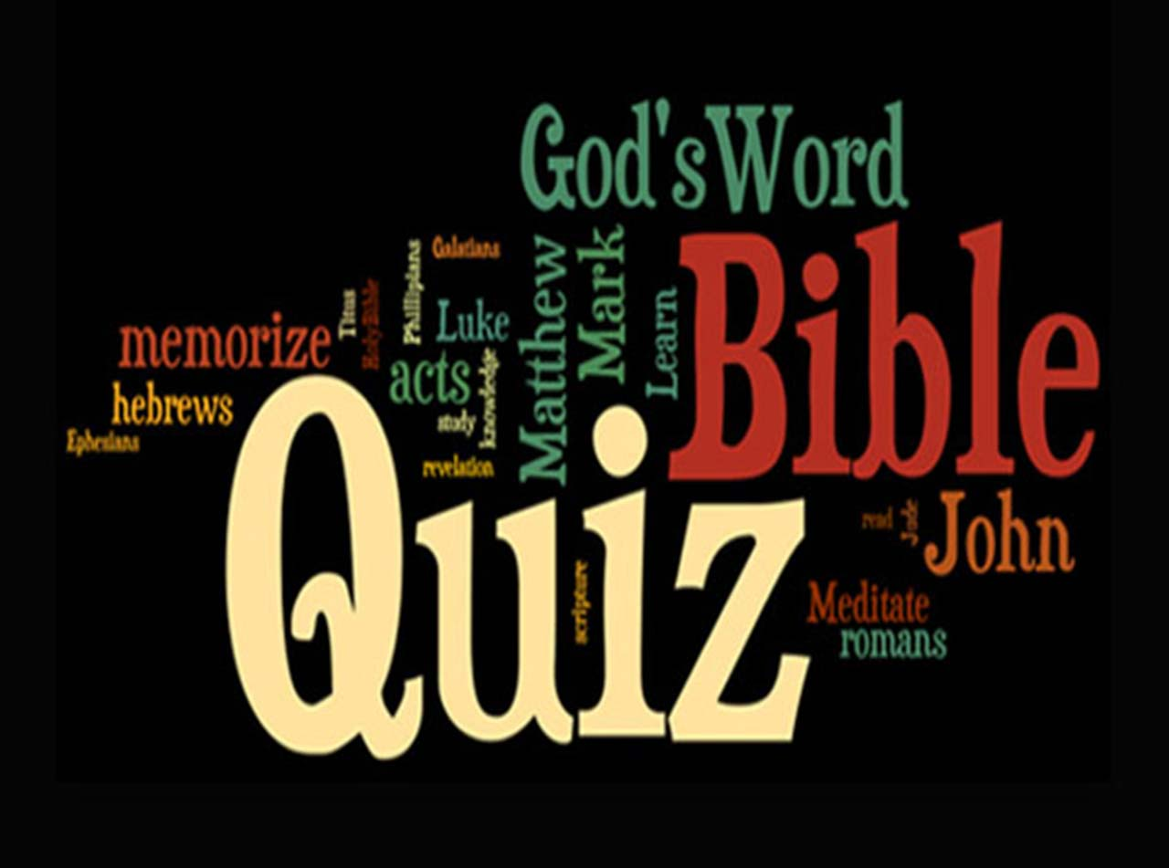 100 Bible Quiz Questions Answers