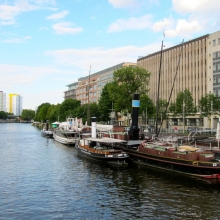Berlin - Along the Spree River