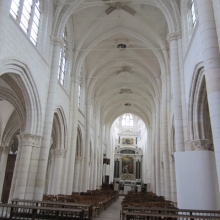 Restored Interior at St Jean au Marche Troyes