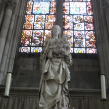 The Blessed Virgin of the Vine at St Urbain Church - Troyes