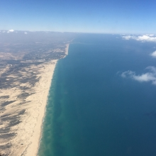 Looking south to Ashdod