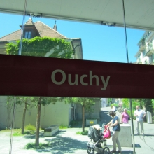 Ouchy Metro Station in Lausanne