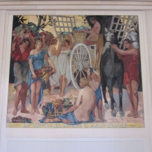 WTO Mural - Work Yielding Abundance (1940)