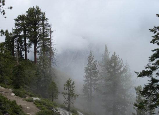 Glacier Point in a Cloud