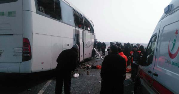 Naxçıvanla sərhəddə ağır qəza - 26 azərbaycanlı yaralandı, 5-i öldü