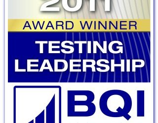 Testing Leadership Award 2011