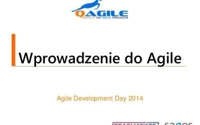 Wprowadzenie doAgile