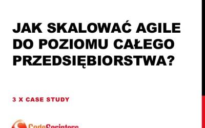 Prezentacja z Agile Management 2014